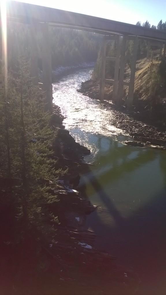 Triple Bridge Rapids, Montana Summer rafting