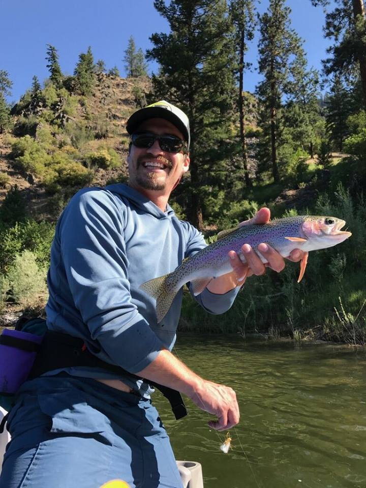 Guided fishing trip half day missoula adventure missoula for Half day fishing trips