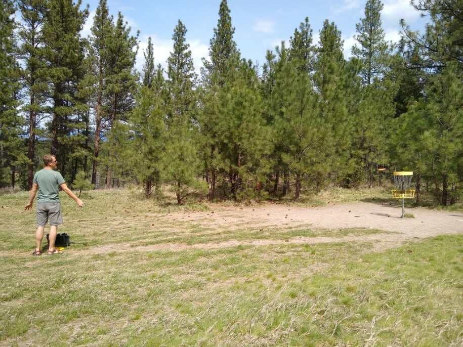 Blue Mountain Disc Golf Course, Adventure Missoula